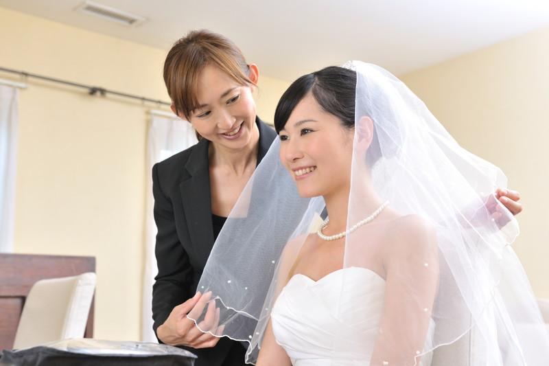 当日の花嫁