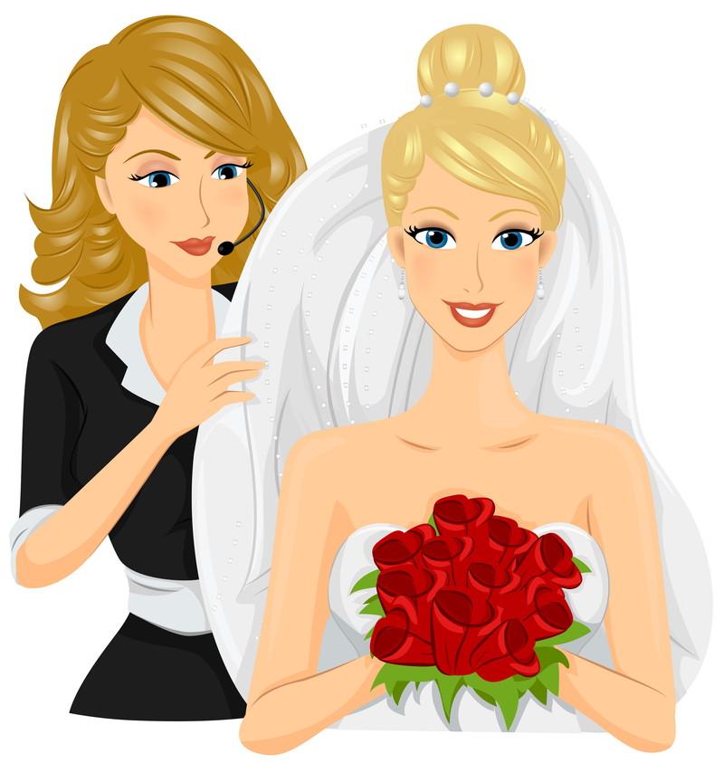 花嫁と髪結い